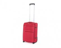 PRETTY UP Kufr cestovní TEX15, malý, červený