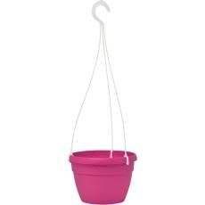 Květináč Lavaredo závěsný - tmavě růžový 20 cm