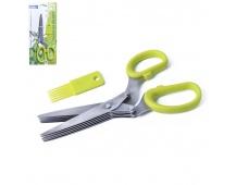 Nůžky na bylinky 5bř. + čistítko