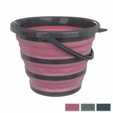 Vědro termoplast. guma/UH KEMP 10L skládací