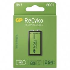 Nabíjecí baterie GP ReCyko 200 (9V)