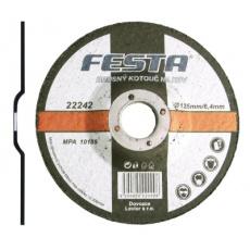 Kotouč brusný FESTA na kov 125x6. 4x22. 2mm