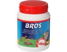 Bros - práškový odpuzovač krtků, psů a koček 350 ml + 100 ml zdarma