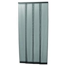Sada závěs dveřní proti hmyzu černý 4x35x220cm