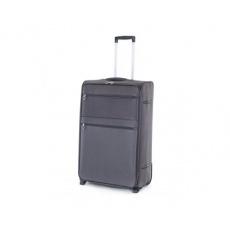 PRETTY UP Kufr cestovní TEX15, velký, šedý