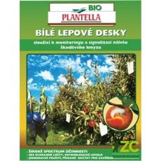 Desky Bio Plantella bílé - univerzální 10 ks