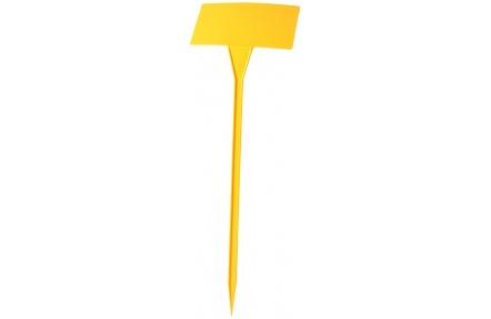 Jmenovka zapichovací SL 500 žlutá 53x16x10 cm lomená