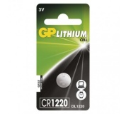 Lithiová knoflíková baterie GP CR1220