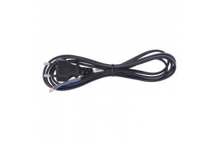 Flexo šňůra PVC 2× 0,75mm2, 3m, černá