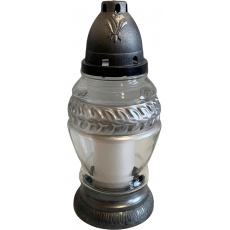 Svíčka sklo lampa - 85 g vavřín