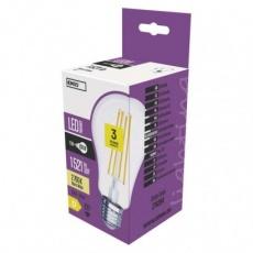 LED žárovka Filament A67 11W E27 teplá bílá