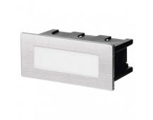 LED orientační vestavné svítidlo 123×53, 1,5W tep. bílá,IP65