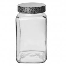 Dóza sklo/UH GRANIT hranatá 2l