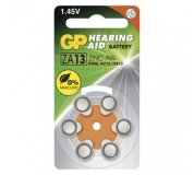 Baterie do naslouchadel GP ZA13 (PR48) - 6ks