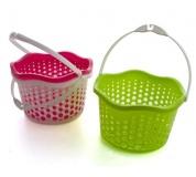 BANQUET Košíček plastový závěsný 19 cm, zelený