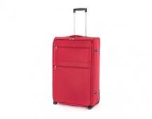 PRETTY UP Kufr cestovní TEX15, velký, červený