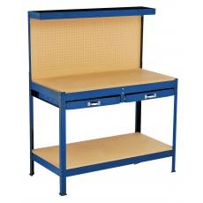 Stůl pracovní 2šuplíky 121x61x150cm