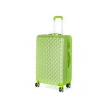 PRETTY UP Kufr na kolečkách ABS21, velký, zelený