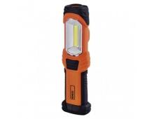 COB LED + LED pracovní svítilna P4111, 280 lm, 3× AA