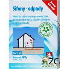Enzym sifony a odpady Bacti SO - 100 g