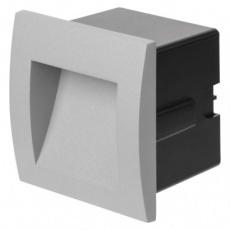 LED orientační vestavné svítidlo 90×90, 1W teplá bílá, IP65