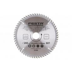 Kotouč pilový FESTA SK 200/3. 2/30mm 60T