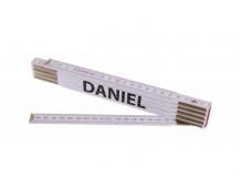 Skládací 2m DANIEL (PROFI, bílý, dřevo)
