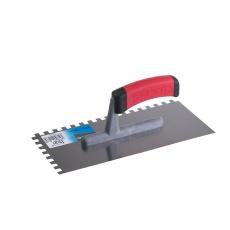 Hladítko FESTA nerez gumová rukojeť 280x130mm zub e10