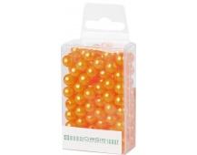Dekorační perly - 8 mm (144 ks) meruňkové