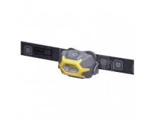 COB LED čelovka P3532, 140 lm, 20m, 3× AAA