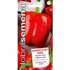 Dobrá semena Paprika zel. - Quadrato D´asti Rosso 0,4g, červená