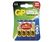 Alkalická baterie GP Ultra Plus AA (LR6) - 4ks