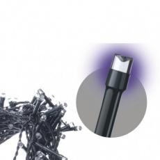 Spojovací Standard LED vánoční řetěz, 10m, fialová