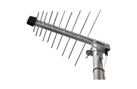 Venkovní anténa EMOS EM-20G/Z, se zdrojem 0–100 km DVB-T2