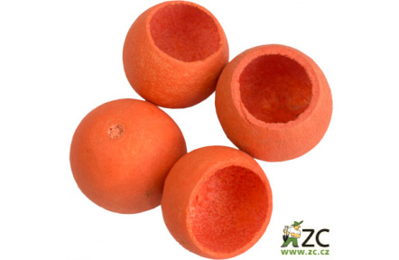 Dekorace - Bell cup 4-5 cm - oranžový 4 ks
