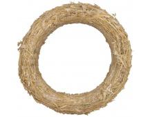 Kroužek slaměný - 18 cm