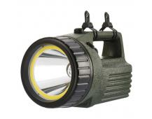 COB LED + LED nabíjecí svítilna P2308, 380 lm, aku 4000 mAh