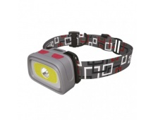 CREE LED + COB LED čelovka P3531, 330 lm, 65m, 3× AAA
