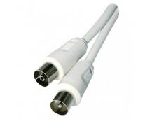 Anténní koaxiální kabel stíněný 10m - rovné vidlice