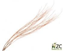 Dekorace - White Lady Copper (100 cm) - 2 ks