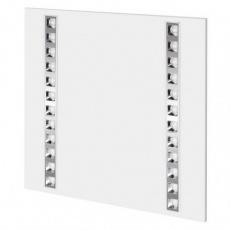 LED panel troffer 60×60, čtvercový vestavný bílý, 36W, neutrální bílá, UGR