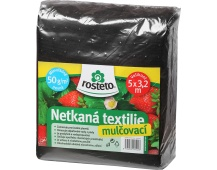 Neotex / netkaná textilie Rosteto - černý 50g šíře 5 x 3,2 m