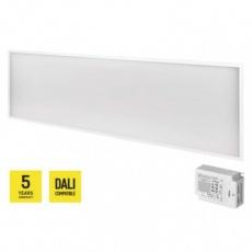 LED panel DALI 30×120, obdélníkový vestavný bílý, 40W n. b.