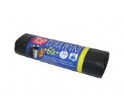 Sáček do koše s páskou LDPE 60l, 10ks/role