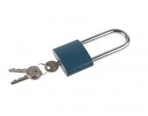 Visací zám.modrý FESTA 63mm prodloužený