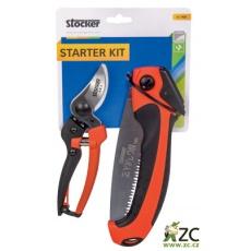 Souprava zahradnická - nůžky, pilka Stocker