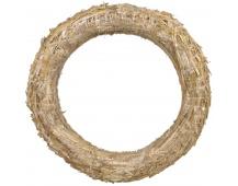 Kroužek slaměný - 35 cm