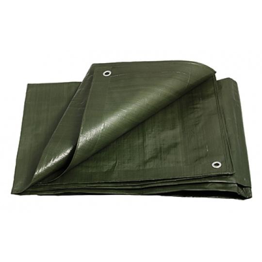 PE plachta zakrývací 6x8m 200g/1m2 zelená