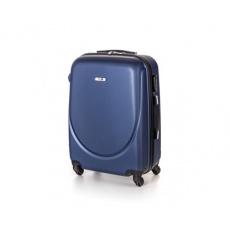 PRETTY UP Kufr na kolečkách ABS16, střední, tmavě modrý