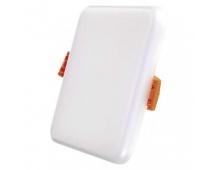 LED panel 100×100, čtvercový vestavný bílý, 8W neutr.b.,IP65